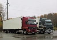 Седельный тягач Volvo FH12 #С 657 РМ 96. Свердловская область, Ивдельский район