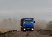 Самосвал на шасси КамАЗ-53215 # М 459 РЕ 46. Курская область, Касторенский район