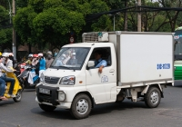 Фургон на шасси CMC Veryca #51C-117.29. Вьетнам, Хошимин