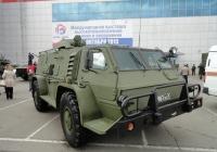 Бронеавтомобиль ГАЗ-39371 на выставке ВТТВ-Омск-2013. Омская область, город Омск, Областной экспоцентр