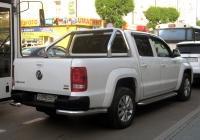 Пикап Volkswagen Amarok #О 090 ОО 72 . Тюмень, улица Ленина