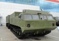 Двухзвенный транспортер ДТ-30ПМ на выставке ВТТВ-Омск-2013. Омская область, город Омск, Областной экспоцентр