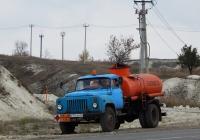 Автотопливозапрвщик на шасси ГАЗ-53-12 # Е 776 АВ 31. Белгородская область, г. Алексеевка, ул. Чапаева
