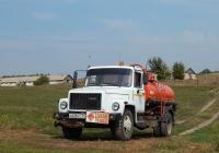 Автотопливозаправщик ГрАЗ на шасси ГАЗ-3307 # М 438 УС 31. Белгородская область, Алексеевский район, с. Гарбузово