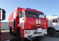 Пожарный автомобиль насосно-рукавный АНР-100-3000 на базе КамАЗ-6522 12 пожарной части города Омска #Н 947 АР 55 . Омская область, город Омск, Областной экспоцентр