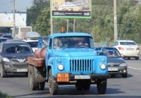 Топливная автоцистерна на базе ГАЗ-52-04 (шасси) #Е 861 ЕУ 55. Омская область, город Омск, улица Лукашевича