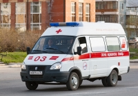 АСМП на базе ГАЗ-3221 #М 001 СО 70. Томск, Иркутский тракт