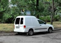 Фургон Volkswagen Caddy #АХ 0891 СІ. Харьковская область, г. Харьков, Ферганская улица