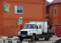 Автомобиль дорожной службы на базе ГАЗ-3309 # К 064 ТВ 31. Белгородская область, г. Алексеевка, ул. Красноармейская