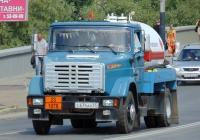 Автоцистерна-газовоз на базе ЗиЛ-4333 #С 674 АВ 55 . Омская область, город Омск, улица Ленина