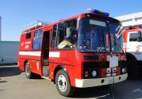 Автомобиль газодымозащитной службы АГ-16 на базе ПАЗ-32053 #Н 375 ВК 55. Омская область, город Омск, Областной экспоцентр