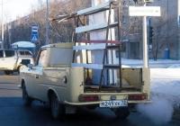 Фургон ИЖ-2715-01 #М 249 ХК 72 переоборудованный в пикап для перевозки стеклопакетов. Тюмень, улица Ватутина