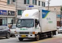 Фургон на шасси Kia Rhino. Корея, Каннын