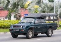 Пикап Mitsubishi L200. Таиланд, Паттайя
