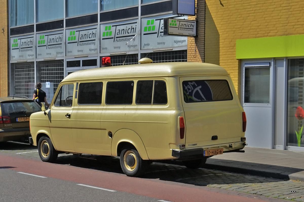 Ford Transit Mark II, #10-HXG-6. Нидерланды, провинция Лимбург, Венло