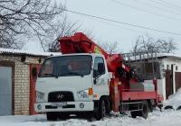 Автоподъёмник Hansin HS 3060 на шасси Hyundai HD78 # О 766 СР 31. Белгородская область, г. Алексеевка, ул. Ватутина