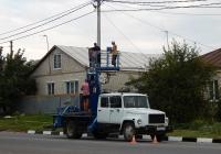 Автоподъёмник на шасси ГАЗ-3309 # О 803 ВК 31. Белгородская область, г. Алексеевка, ул. Победы