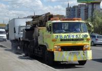 Эвакуатор на шасси Nissan Diesel Tractor #О 999 ОМ 55 . Омская область, город Омск, улица Лукашевича