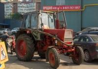 Трактор ЮМЗ-6 с насосом для откачки жидкостей (коммунальная служба). Самара, ул. Садовая