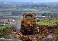 Бульдозер Caterpillar D10T. Израиль, Зихрон-Яаков