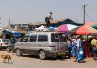 Микроавтобус Hyundai Starex #DD-7898. Мьянма, Дала