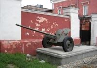 45-мм противотанковая пушка М-42. Алтайский край, Барнаул, улица Ползунова