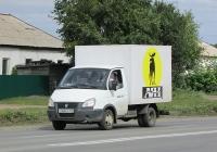 """Изотермический фургон 172412 на шасси ГАЗ-3302-288 """"Газель"""" #С 968 ОК 154. Новосибирск, улица Одоевского"""