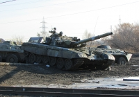 Танк Т-72. Новосибирская область, Коченёвский район, посёлок Чик
