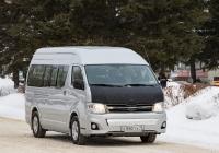Микроавтобус Toyota Hiace #Е 550 ТХ 70. Томск, проспект Кирова