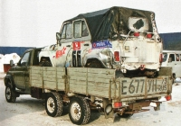 Бортовой грузовой автомобиль УАЗ-2360L #Е 677 УН 73 . Ульяновск