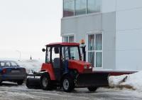 Машина уборочная на базе трактора Беларус-320.4 #5138 ЕЕ 31. Белгородская область, г. Алексеевка, ул. Спортивная
