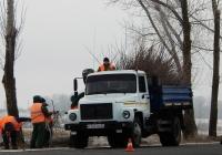 Самосвал ГАЗ-САЗ-35071 # Н 743 ТМ 31. Белгородская область, г. Старый Оскол, Стойленское шосее