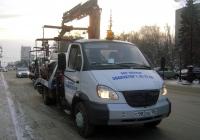Эвакуатор Чайка-Сервис 2784А3 на шасси ГАЗ-33106 Валдай #С 982 АЕ 186 . Тюмень, улица Республики