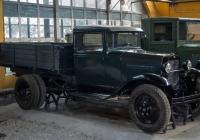 грузовой автомобиль ГАЗ-ММ из коллекции Политехнического музея. Москва, улица Рогожский Вал, музей Ретро автомобилей