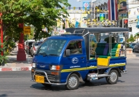 Daihatsu Hijet #30-0280, оборудованный для перевозки пассажиров. Таиланд, Хуахин