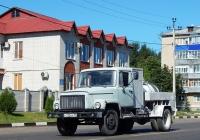 Дезинфекционная установка ДУК-1 на шасси ГАЗ-3307 # Р 110 ОА 31. Белгородская область, г. Алексеевка, ул. Маяковского