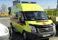 Реанимобиль Центра медицины катастроф на базе Ford Transit #Р 206 ТВ 55. Омская область, город Омск, Областной экспоцентр