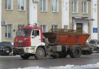 Комбинированная дорожная машина МД-43253 на шасси КамАЗ-43253 #М 276 КХ 45. Курган, улица Куйбышева