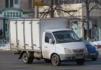 """Хлебный фургон 274711 на шасси ГАЗ-3302 """"Газель"""" #А 090 ТХ 72.  Курган, улица Куйбышева"""