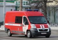 Автомобиль штабной (АШ) на базе Peugeot Boxer #Х 004 КН 45. Курган, улица Куйбышева