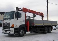 Бортовой грузовой автомобиль Hino 700 с КМУ мод.739702 #Р 004 РТ 72 . Тюмень