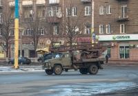 Автоподъемник АП-17А на базе ГАЗ-53-12. Днепропетровская область, Каменское, просп. Свободы