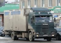 Фургон Scania P93M #T 670 OX 66.  Курган, улица Куйбышева