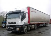 Седельный тягач IVECO Stralis #О 761 ВМ 58 с полуприцепом . Свердловская область, Луговской