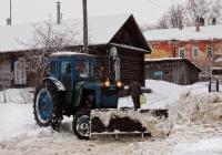 Трактор Т-40АМ #9738 НМ 37 с отвалом. Ивановская область, Каменка