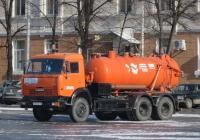Каналопромывочная машина КО-507АМ на шасси КамАЗ-65115 #А 614 ЕТ 45.  Курган, улица Гоголя