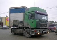 Седельный тягач MAN F90 #А 289 РВ 21 . Свердловская область, Берёзовский