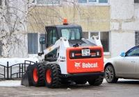 Колесный мини-погрузчик Bobcat S630, #3218YH86. Ханты-Мансийский АО, Нефтеюганск, Парковая улица