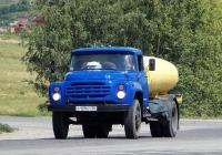Автоцистерна на шасси ЗиЛ-431412 # О 129 КТ 36. Белгородская область, г.  Алексеевка, пер. Острогожский