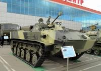 Боевая машина десанта БМД-3 на выставке ВТТВ-Омск-2013. Омская область, город Омск, Областной экспоцентр